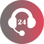 24 support icon